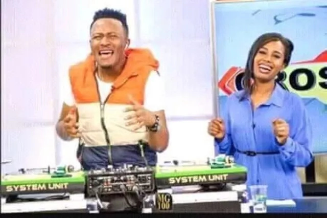 Dj Mo trolled by fans over his goofy chemistry with co-host Ekirapa