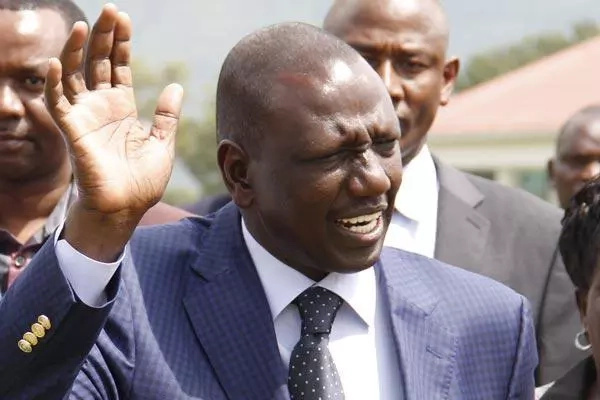 DP Ruto heads back to Baringo after his rally was disrupted by gunshots