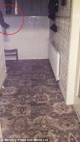 Cazafantasmas grabaron un momento espeluznante en la casa más embrujada del Reino Unido