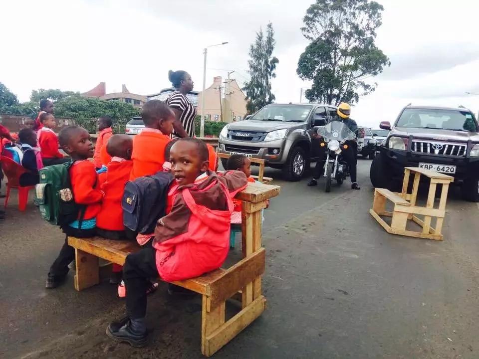 Huzuni; Watoto wadogo wa miaka 5 watumika kufanya maandamano, Nairobi