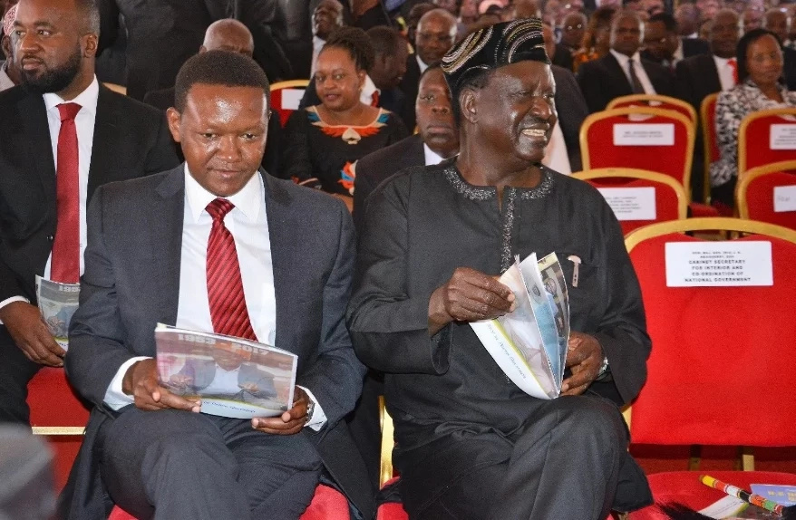 Raila Odinga's message to Kenyans a day after being hospitalised