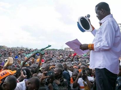 Raila awaambia wafuasi wake kutulia mpaka Oktoba 25 atakapotoa mwelekeo