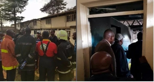 Seven girls killed in Kenya school dormitory fire