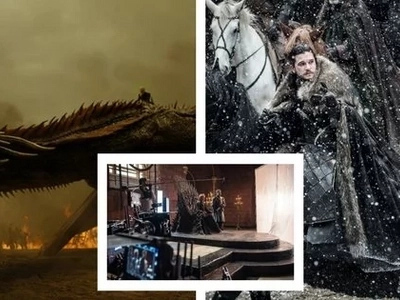 Behind the scenes photos of 'Game of Thrones' Season 7 released. Excited na ba kayo?