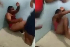 Prisoners Record A Child Rapist Getting Destroyed In Prison