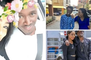 Gospel singer Bahati and his NEW girlfriend TANTALIZE the internet with yummy Valentine day's photos