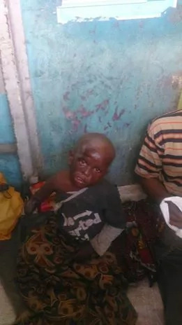 Photos: Fake beggar arrested in Mombasa