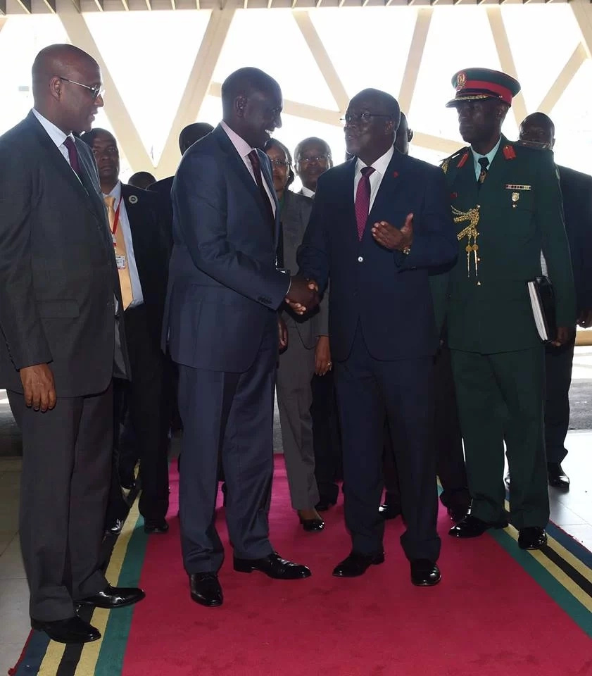 William Ruto misses the grand merger where URP was dissolved