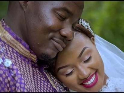 I love plump guys- Citizen TV Willis Raburu's wife defends her hubby's 130-kilo weight