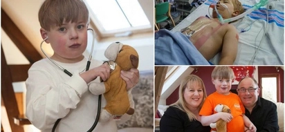 """This 9-year-old kid was born with half a heart. Here's why they called him """"Gladiator"""""""