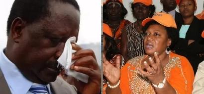 Mwanasiasa wa kike wa ODM amrusha nje Raila Odinga, huku ndiko anakoelelea