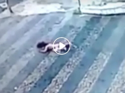 Kakila-kilabot! Baby miraculously survives after falling off building