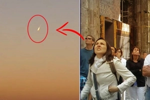 Fireball? People got their jaws dropped seeing this object above their heads