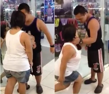 Couple with down syndrome gives #kiligfeels to mall-goers