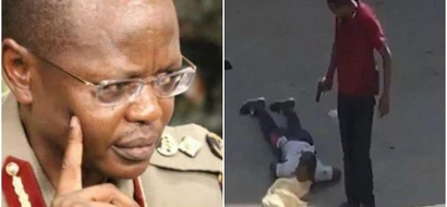 Police IG Joseph Boinnet vows to take action on officers caught on camera executing the Eastleigh suspects