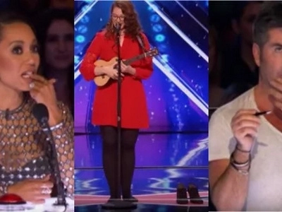 What do you think did Simon Cowell do this time to a singer who did not wear her shoes at America's Got Talent 2017 during her performance?