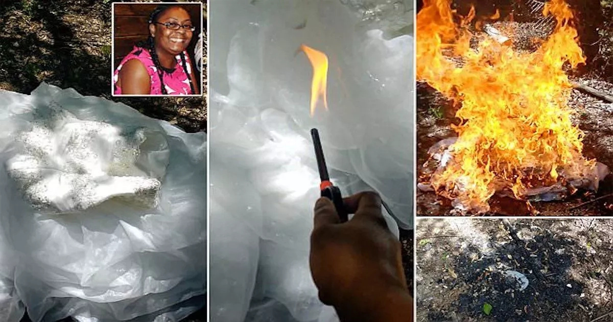 41-year-old bride-to-be sets her wedding dress on fire after her fiancé cheated on her (photos, video)