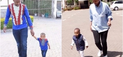 16 times that Janet Mbugua's son stepped out looking like a real fashionista (photos)