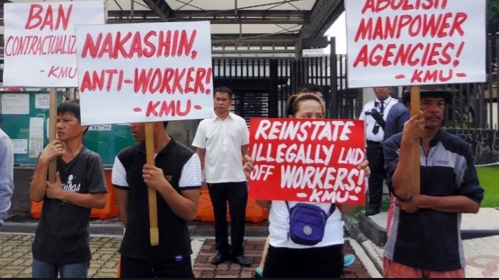 Illegal workers' strike shuts Nakashin
