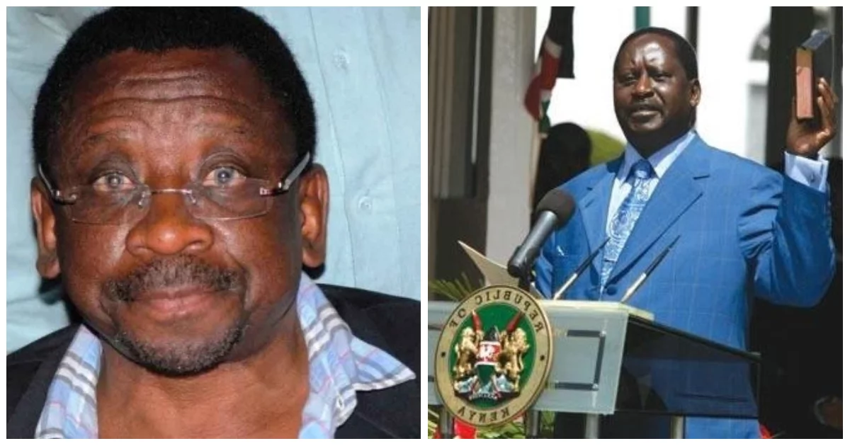 No trouble in NASA over Raila's planned swearing-in - James Orengo