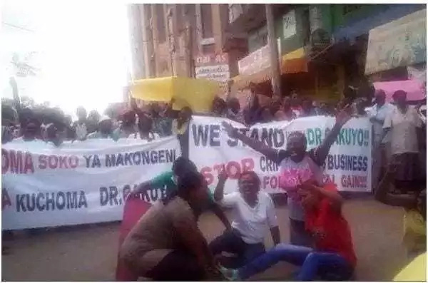 Kabogo apata upinzani mkubwa Thika dhidi ya mpinzani wake