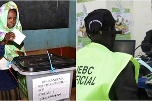 List of Uhuru's and Raila's strongholds leading in voter registration as the exercise ends today Thursday, February 16
