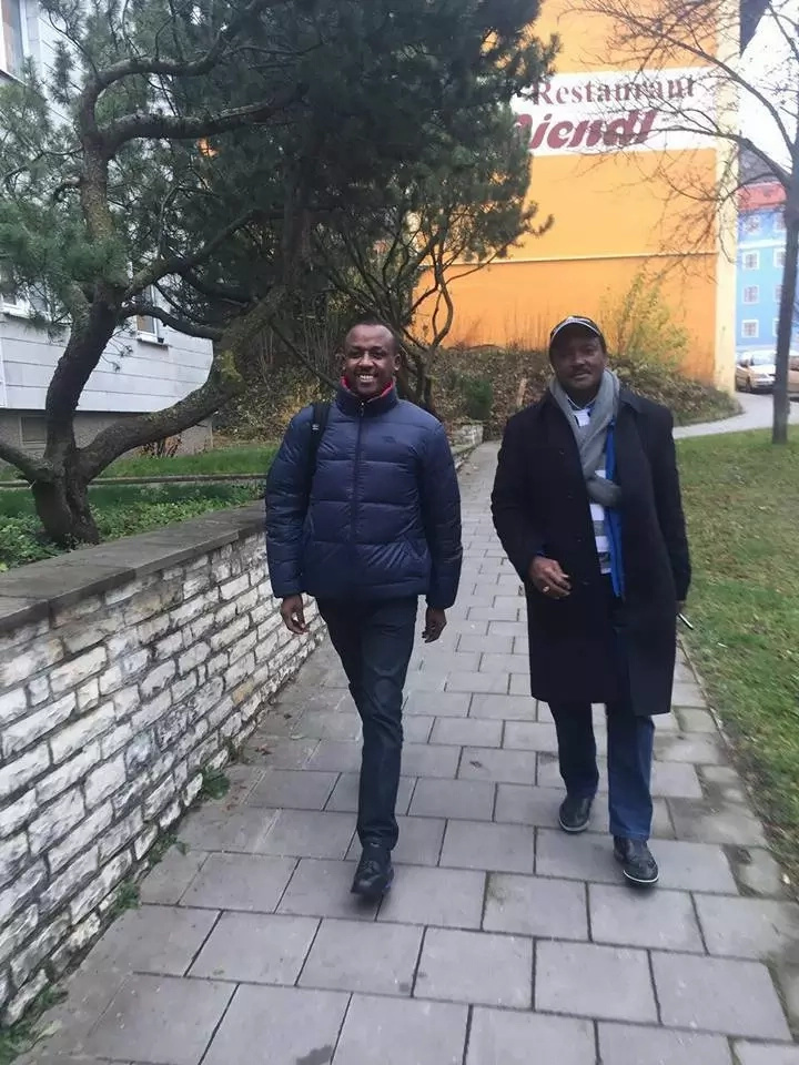 Another NASA leader visits Kalonzo in Germany as his wife undergoes treatment