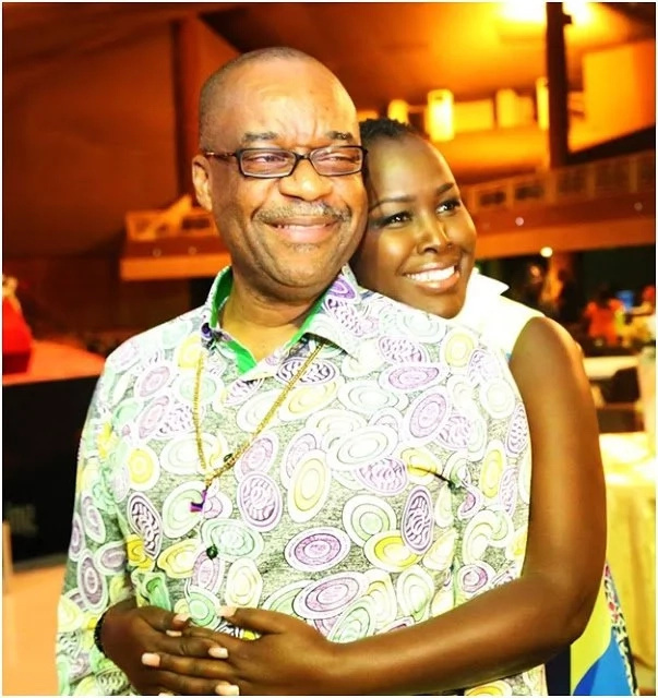 Emmy Kosgei loves her old man