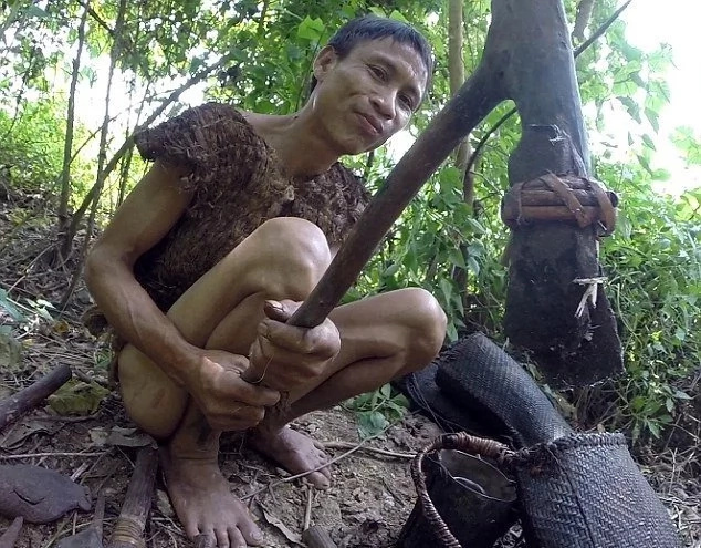 Meet the man who spent 41 years living in the jungle (photos)