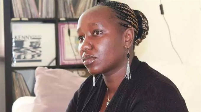 Lucy Murugi fled Kenya two years ago after her family rejected her for coming out as a lesbian
