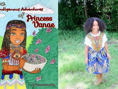 Creative businessgirl! 6-year-old produces beautiful coloring book about WORLD'S indigenous people (photos)