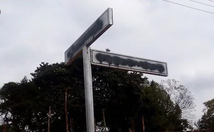 DP Ruto ordered destruction of signposts in Chuka town