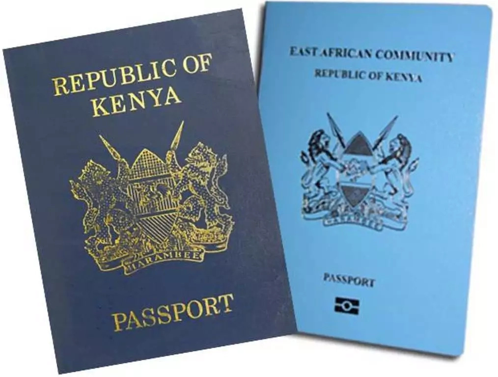 Passport of the Republic of Kenya