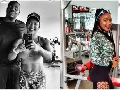 Meet the hot lady behind Citizen TV's Willis Raburu's impressive weight loss