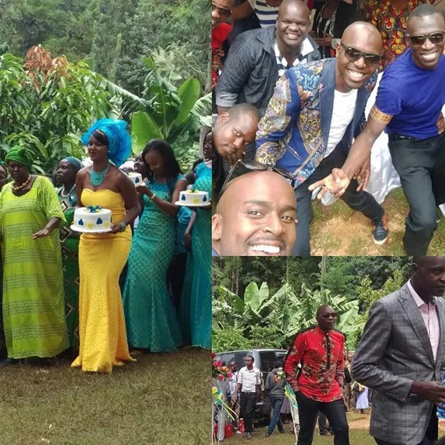 NTV Ken Mijungu's traditional wedding in photos