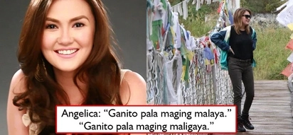 Nagpakalayu-layo muna? Angelica Panganiban shares things she realized while in Nepal. Is she alluding to ex-bf JLC with, 'Ganito pala maging malaya?'