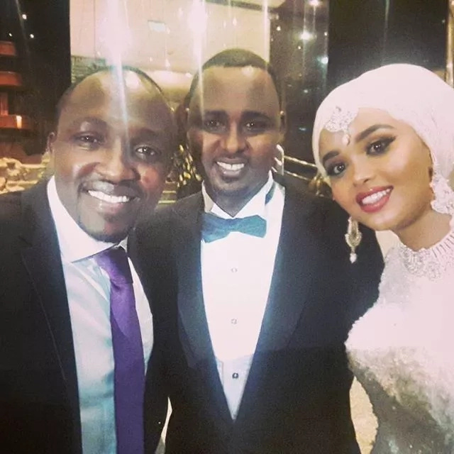 KTN news anchor Yussuf Ibrahim ties the knot in lavish private ceremony