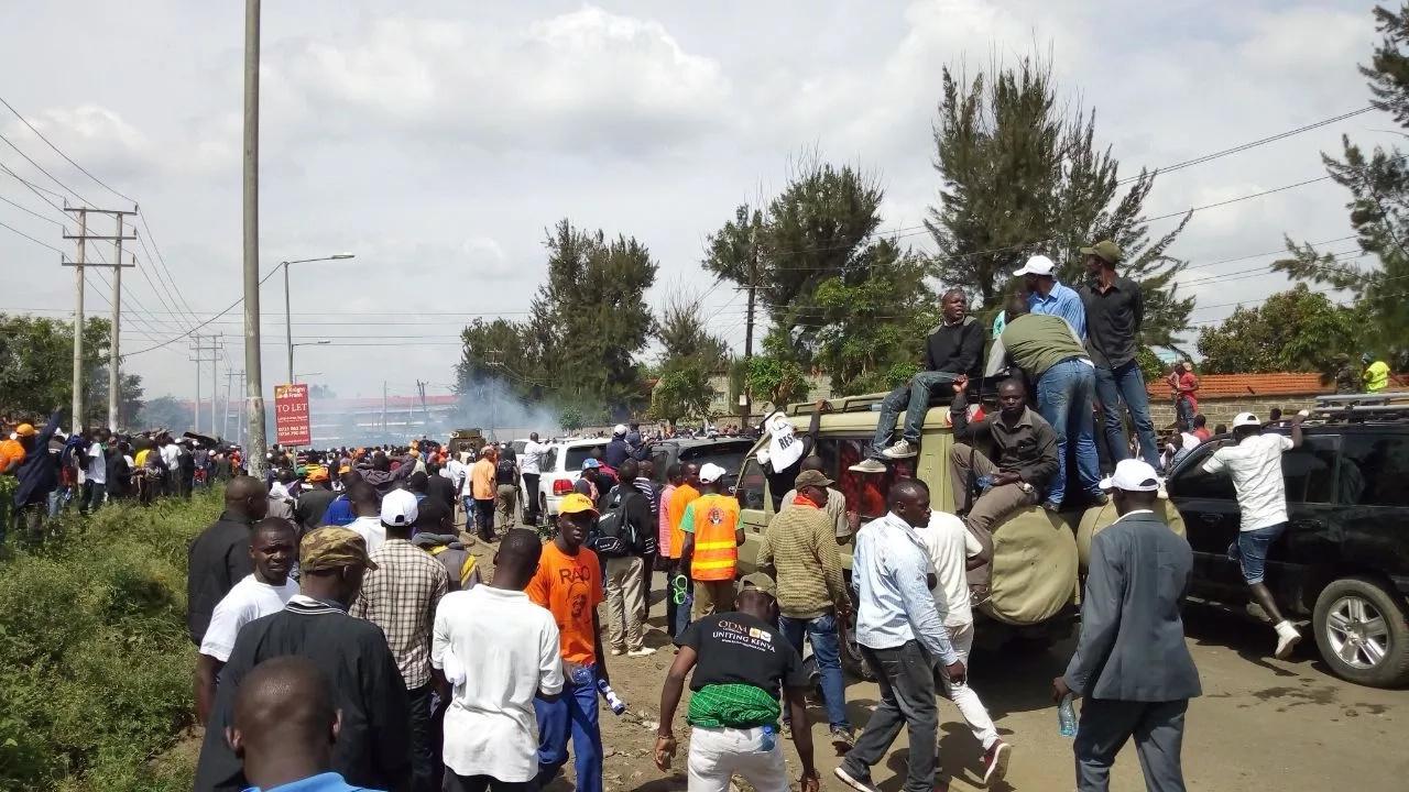 Raila amuonya vikali Uhuru Kenyatta kutokana na makabiliano ya polisi na wafuasi wa NASA yaliyotokea jijini Nairobi