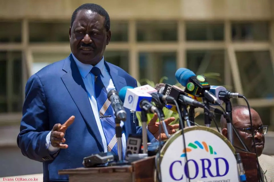 "I did not launch ""Jubilee Tunnels of Death"", says Raila Odinga"