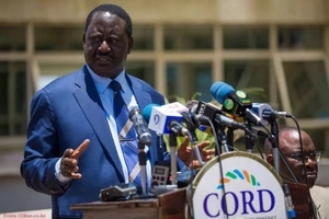 Raila responds to claims that he launched