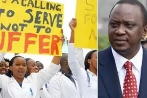 Uhuru Kenyatta reveals the new, FAT offer that his government has given the striking doctors