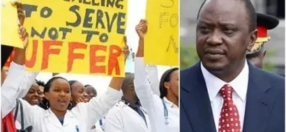Opposition MP's tell Uhuru Kenyatta what he needs to do to end the doctors strike in JUST two hours