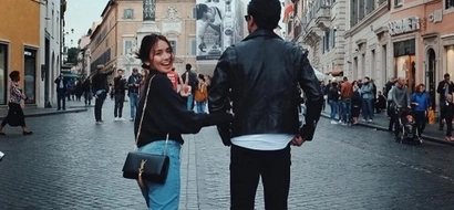 Ang tamis! Kathryn Bernardo and Daniel Padilla can't keep their hands off each other in Rome