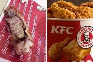 Man finds vital organs in KFC fast food
