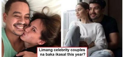 Sino kayang ikakasal ngayong taon? 5 Pinoy celebrity wedding predictions for 2018