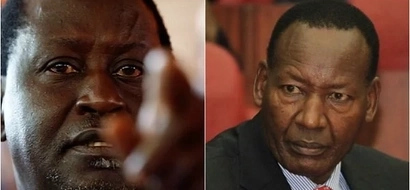 Raila fires back at Nkaissery after the request to give NASA a media blackout