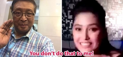 Huli sa cam! Tito Lhar snapped at News5 segment producer during interview with Maureen Wroblewitz, 'You don't do that to me!'