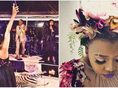 Fit for a queen: Inside Anele Mdoda's star-studded weekend birthday bash