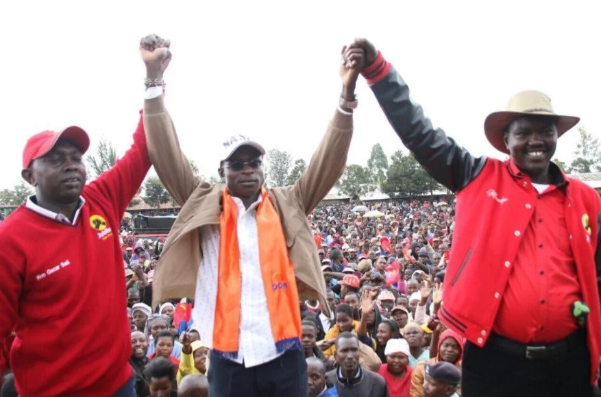Powerful Jubilee Politician pulls a shocker as he endorses an ODM candidate