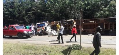 Kijiji chaomboleza vifo vya watu 9 kwenye ajali ya barabarani